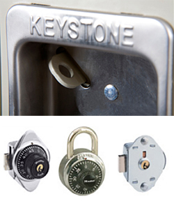 Available locker accessories