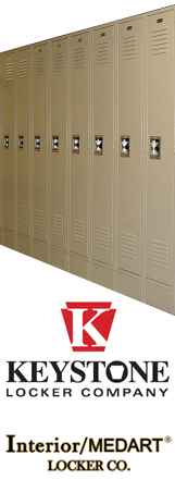 LockersNow.com is the exclusive web distributor of Keystone Lockers and exclusive distributor of Interior/MEDART lockers